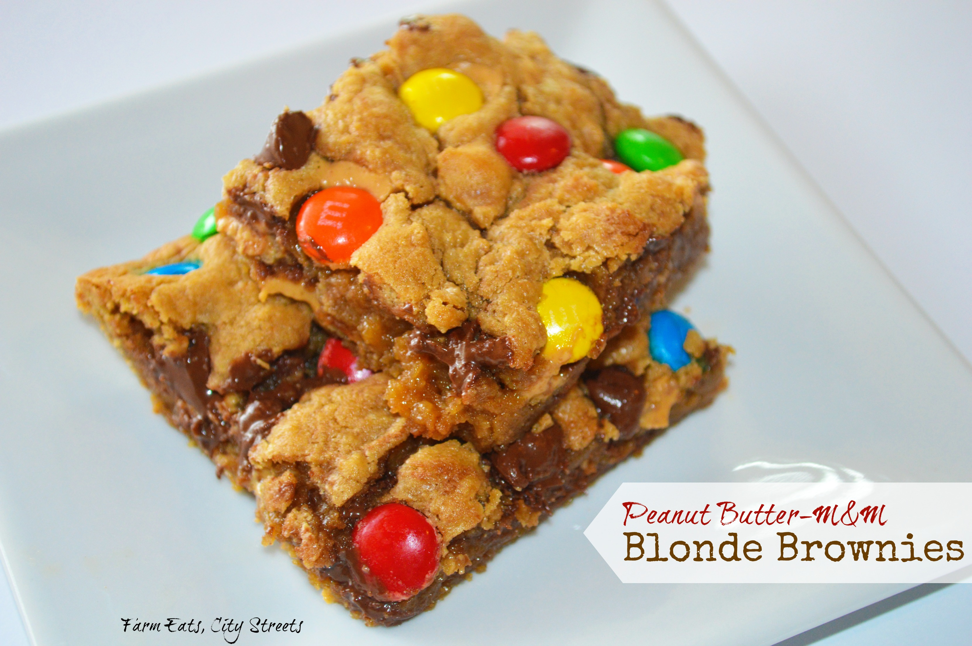 Blonde Brownies I Recipes — Dishmaps
